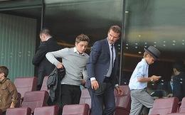 Man United chê con trai Beckham