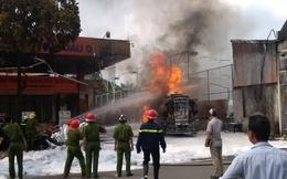 Cây xăng Quân đội bị cháy dữ dội có nằm trong diện giải tỏa!?