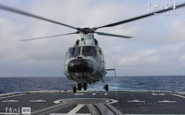 Hải quân Trung Quốc tập trận chống tàu ngầm