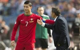 VIDEO: Yếu lòng, Cris Ronaldo vẫn quyết không bỏ Bồ Đào Nha