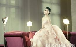 Người mẫu Đoàn Trang Nhung tha thướt cùng váy dạ hội