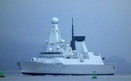 Khu trục hạm mạnh nhất nước Anh gia nhập Hải quân Hoàng gia