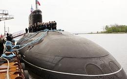 Ngày 11/11, tàu ngầm Kilo Hà Nội lên đường về Việt Nam