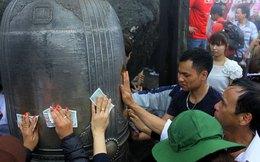 Chen nhau mài mòn chuông, chùa Đồng trên đỉnh Yên Tử