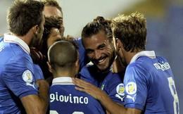 Tham chiến Confederations Cup, Italia đụng khắc tinh