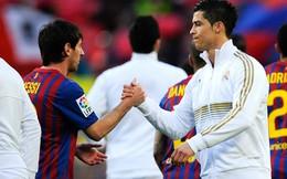Leo Messi, Ronaldo dẫn đầu BXH AP