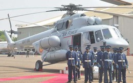 Không quân Ghana tiếp nhận 4 trực thăng quân sự Mi-171SH