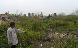 Phát hiện thi thể một phụ nữ bên ngôi mộ tại Thái Bình
