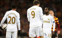 Sao Swansea ức chế vì không được đồng đội nhường penalty