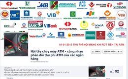 Cư dân mạng kêu gọi 'tẩy chay' ATM