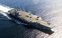 Mỹ rút tàu sân bay khỏi bờ biển Syria