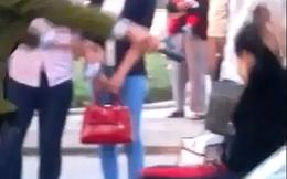 Xôn xao clip công an phường xô đẩy người dân một cách thô bạo