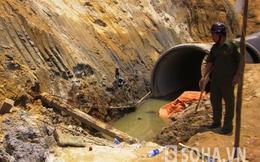 Bị ống nước nặng 15 tấn đè lên người, một công nhân tử nạn