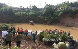 Hình ảnh tang thương vụ xe Innova bị lũ cuốn ở đập tràn Nghệ An