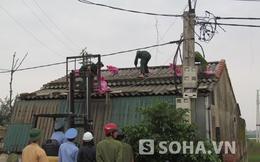 """Hà Tĩnh: 23.000 người khẩn cấp di dời tránh """"siêu bão"""""""