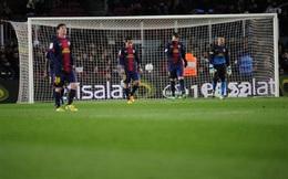 Khi Barca run sợ