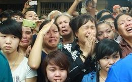 Thanh niên khóc như mưa tiếc thương Đại tướng trên phố Hoàng Diệu
