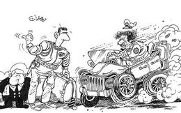 Bị tra tấn, thủ tiêu vì vẽ tranh châm biếm Tổng thống Syria