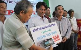 Quảng Ngãi: Hỗ trợ cho ngư dân bị Trung Quốc đuổi bắn trên biển