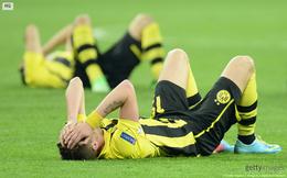 Giọt nước mắt đau khổ của kẻ bại trận Dortmund