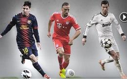 Chốt tên 3 đề cử giải Cầu thủ xuất sắc nhất châu Âu