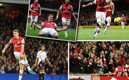 Bắn hạ Liverpool, Arsenal độc chiếm đỉnh Premier League