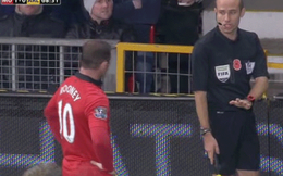 Bằng chứng trọng tài biên phỉ báng Rooney