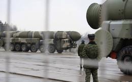 Lực lượng tên lửa chiến lược Nga tập trận với tên lửa Topol