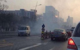 TQ: Nổ lớn liên tiếp trước văn phòng tỉnh ủy, 9 người thương vong
