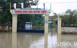Sau bão dữ, trường bị ngập lụt, 40 nghìn học sinh vẫn nghỉ học