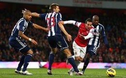 KÊT THÚC, West Brom 1-2 Arsenal: Chiến thắng nhọc nhằn của đội khách