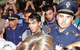 Carlos Tevez đã có mặt tại Italia