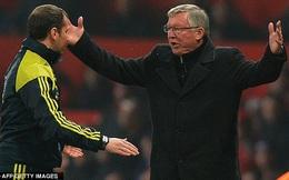 Alex Ferguson và Nani nhận án phạt từ UEFA