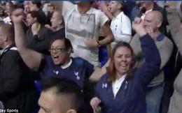 CĐV Tottenham ăn phải quả lừa