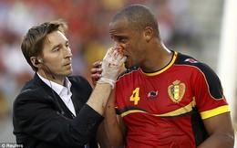 Chiến thắng của ĐT Bỉ được trả bằng máu của Kompany