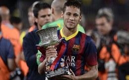 """Barca đoạt Siêu cúp, """"song sát"""" Neymar – Messi im tiếng ngay tại Nou Camp"""