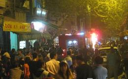 Hà Nội: Nghi đốt hàng mã, ngôi nhà 3 tầng bốc cháy