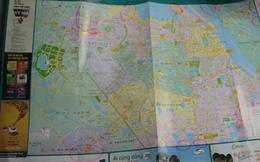 Bản đồ giao thông Hà Nội phát miễn phí mắc nhiều lỗi 'khó đỡ'