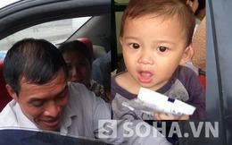 Bé 1 tuổi bị mẹ bỏ rơi tại bến xe Giáp Bát được gia đình nhận lại