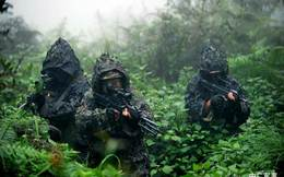 Biệt kích Trung Quốc âm thầm diễn tập trong rừng