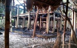 Ngôi nhà Lang cuối cùng của người Mường bị thiêu rụi
