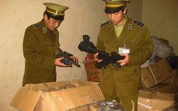 Thanh Hóa: Xử phạt xe khách chở 950 khẩu súng nhựa trái phép