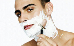 """Bí quyết để tránh """"tai nạn"""" khi cạo râu"""