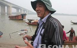 Bản đồ 11 điểm tìm kiếm thi thể chị Huyền trên sông Hồng