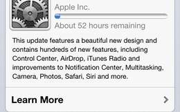 CEO Apple bị kiện vì iOS 7... chiếm quá nhiều bộ nhớ