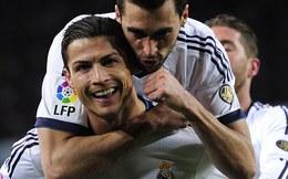 Điểm 10 cho Cris Ronaldo, điểm 3 cho Messi