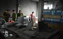 Cháy tại Kho bạc Nhà nước tỉnh Tiền Giang