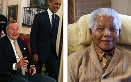 Lộ thư chia buồn... ông Mandela qua đời của cựu tổng thống Bush