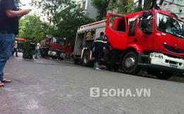 Cháy tòa nhà trụ sở cũ báo điện tử VietNamNet
