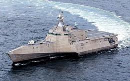 """Hải quân Mỹ tiếp nhận """"quái vật ba thân"""" USS Coronado"""